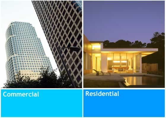 Residential vs Commercial